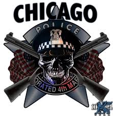 Chicago Police Decal For The Thin Blue Line