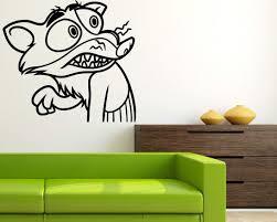 Amazon Com Duke Weaselton Zootopia Vinyl Decal Zootopia Sticker Wall Child Room Boys Bedroom Applique Graphic Wall Zoot3 Kitchen Dining