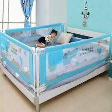 Baby Bed Fence Safety Gate Child Barrier For Beds Crib Rail Fencing Guardrail Ebay