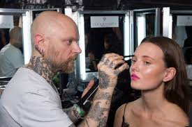 london fashion week with illamasqua