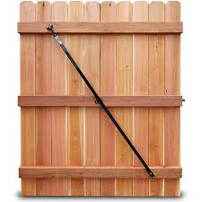 Amazon Com True Latch Gate Brace Wood Privacy Fence Anti Sag Gate Kit Adjustable Gate Hardware Kit For Outdoor Wood Privacy Fence Gate Kit Gate Hardware