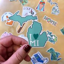 Decals Made In The Mitten