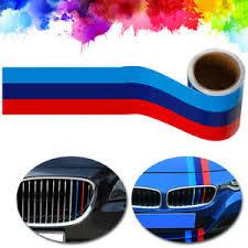 5ft M Colored Stripe Sticker Car Vinyl Decal For Bmw M3 M4 M5 M6 3 5 6 7 Series Ebay