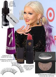 christina aguilera s dramatic makeup