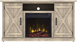 fireplace antique rustic look
