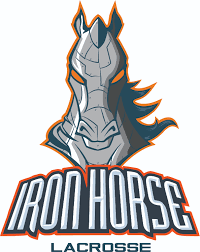 Iron Horse Car Sticker Teamlax Plus