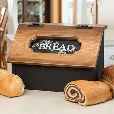 Pine Hinged Bread Box Walmart Com Walmart Com