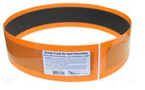 sandy trimmer track for silent wheel