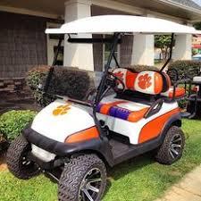 10 Collegiate Golf Cars Ideas Golf Car Golf Golf Carts