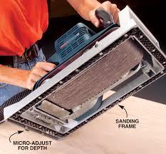 tame your belt sander popular