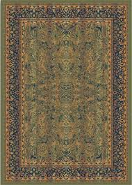 morris style thin traditional floor rug