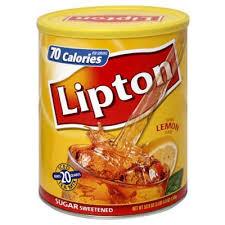 lipton iced tea mix sweet lemon