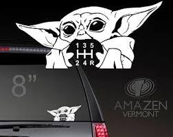 Motors Baby Yoda The Mandalorian Star Wars Vinyl Decal Window Bumper Sticker Luke Darth Car Truck Graphics Decals Triumphinthemidstofadversity Com