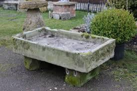 stone sink on stone bases stk no 3163