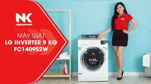 Máy Giặt LG Inverter 9 Kg FC1409S2W Giá Tốt