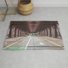 straight ahead chicago rug by