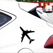 Flying Aircraft Airplane Sticker Car Styling Vinyl Body Window Bumper Stickers And Decals Auto External Decorations Accessories Car Stickers Aliexpress