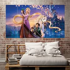 Tangled Rapunzel Block Giant Wall Art Poster