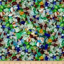 coastal calm sea glass