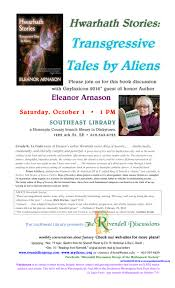 Rivendell Discussion October 1, 2016 – Eleanor Arnasons's Hwarhath ...