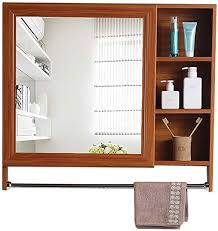 hizljj mirror cabinet bathroom wall
