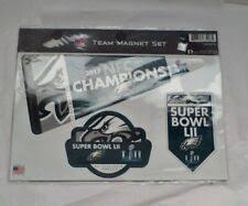 Philadelphia Eagles Super Bowl Nfl Magnets For Sale Ebay