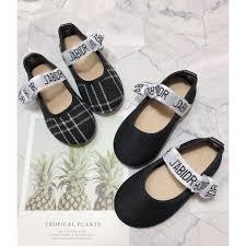 Giày búp bê nơ Dr cho bé gái. Giày dép thời trang trẻ em ...