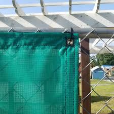 Custom Privacy Fence Screens Windscreen Tarp 9oz Vinyl Coated Mesh 80 Solid Lookout Mountain Tarp