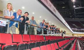 IBSF President Ivo Ferriani visited Beijing 2022 venues as member of the  IOC Coordination Commission