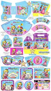 Kit Imprimible Princesa Peach Invitaciones Candy Bar 650 00 En