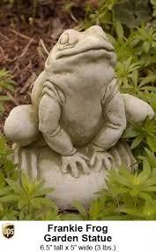 garden statues frog garden statues