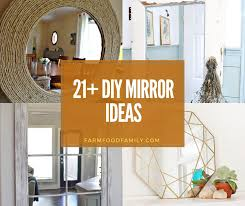 21 best diy mirror frame ideas fit