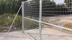 Swing Gate Soudees Indusmetal Torres Metal Wire Mesh Industrial