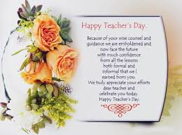 top happy teachers day quotes and sayings in english daily