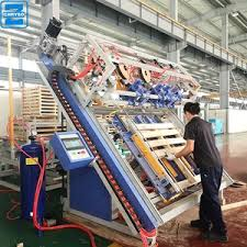 wood pallet nailing machine with flip