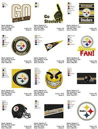 Pittsburgh Steelers Embroidery Machine Designs Cartoon Characters Machine Embroidery Designs
