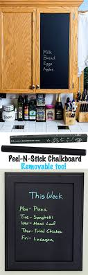 Chalkboard Peel Stick Decals Easy Removable Diy Kits