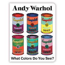 Amazon.com: Andy Warhol What Colors Do You See? Board Book (9780735363793):  Mudpuppy, Warhol, Andy: Books