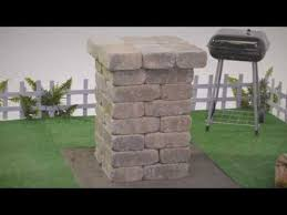 how to build a block column you