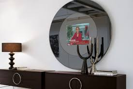 frame tv bespoke mirrored tv units