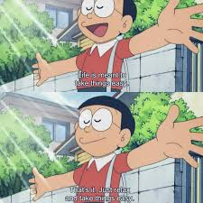 doraemon nobita is right for once on we heart it