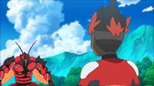Ash And Kiawe Flex With Buzzwole! Pokemon Sun & Moon Anime Episode 61 [RAW]  GIF ...