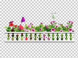 Flower Fence Photography Png Clipart Balcony Balcony Fence Balcony Flower Box Coreldraw Cut Flowers Free Png