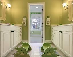 Avocado Green Kids Room Walls Design Ideas