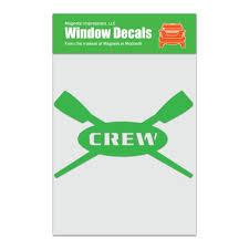 Crew Rowing Car Window Decal Walmart Com Walmart Com