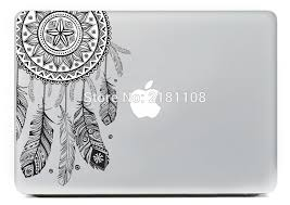 Feather Mac Laptop Sticker Skin Vinyl Decal For Apple Macbook Laptop 13 Inch Decal For Macbook Decals For Laptopsdecals For Mac Aliexpress