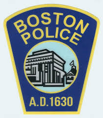 Boston Police Department Decal