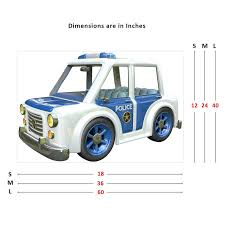 Zoomie Kids Police Car Wall Decal Wayfair