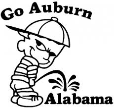 Go Auburn Car Or Truck Window Decal Sticker Or Wall Art All Time Auto Graphics