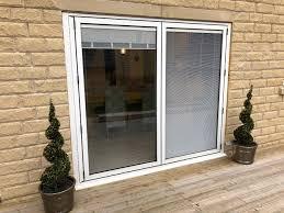 integral blinds sliding bi fold doors